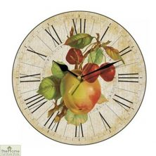Apple & Cherries Wall Clock