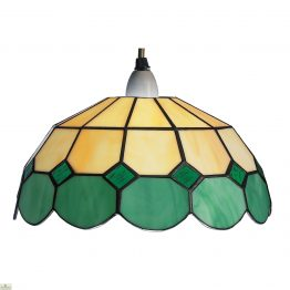 Beige Green Bistro Shade