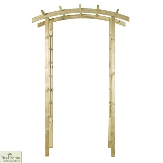 Ellington Wooden Garden Arch_2