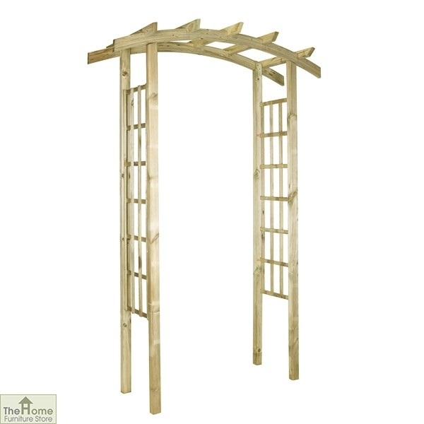 Ellington Wooden Garden Arch