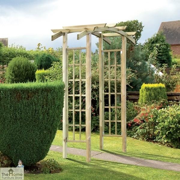 Ellington Wooden Garden Arch_1