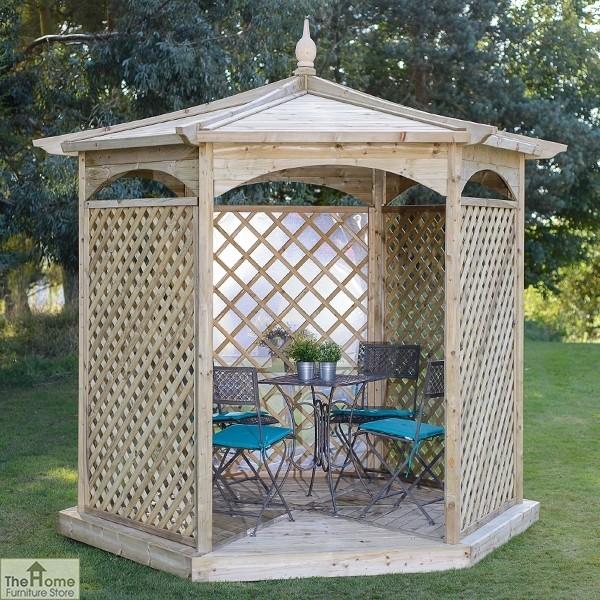 Brettenham Hexagonal Garden Gazebo_1
