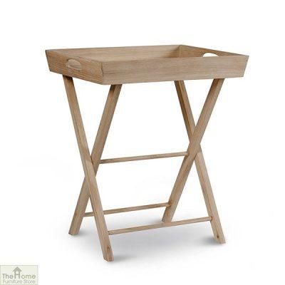 Raw Oak Butlers Table
