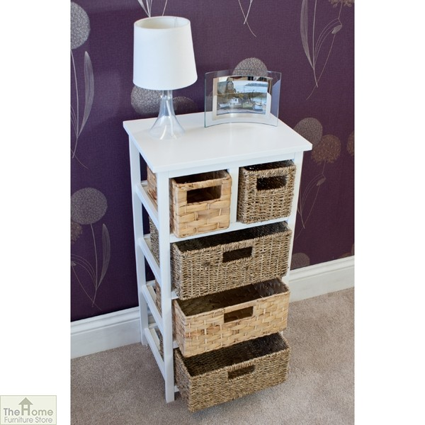 Camber Natural 5 Drawer Tallboy Unit_5