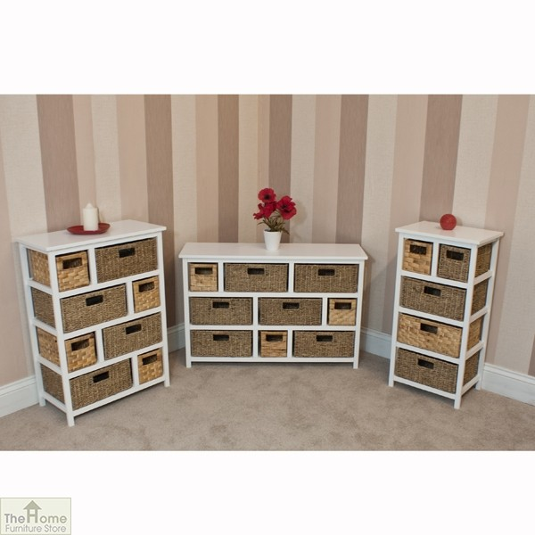Camber Natural 8 Drawer Chest The Home Furniture Store