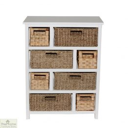 Camber Natural 8 Drawer Chest