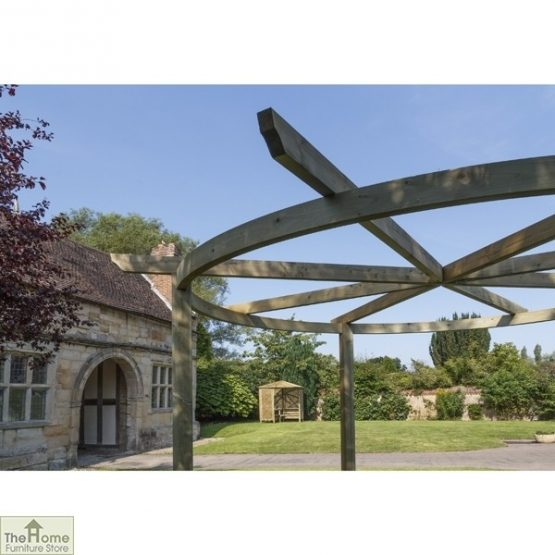 Bramblecombe Wooden Garden Pergola_2