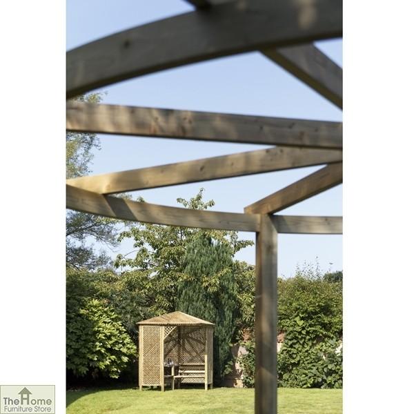 Bramblecombe Wooden Garden Pergola_5