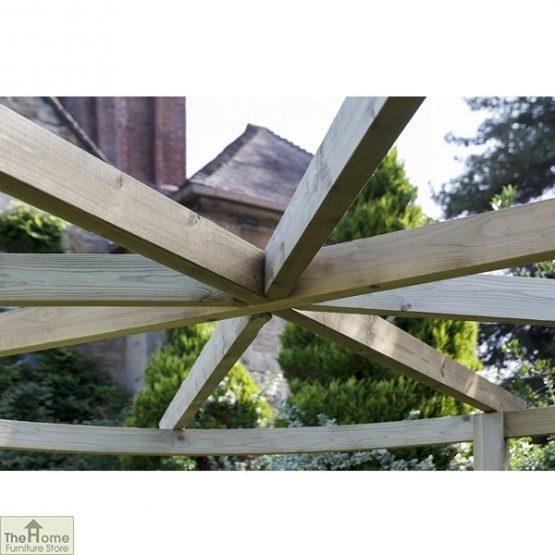 Bramblecombe Wooden Garden Pergola_3