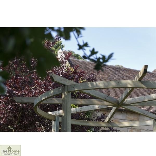 Bramblecombe Wooden Garden Pergola_4