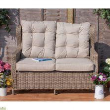 Casamore Corfu High Back 2 Seater Sofa