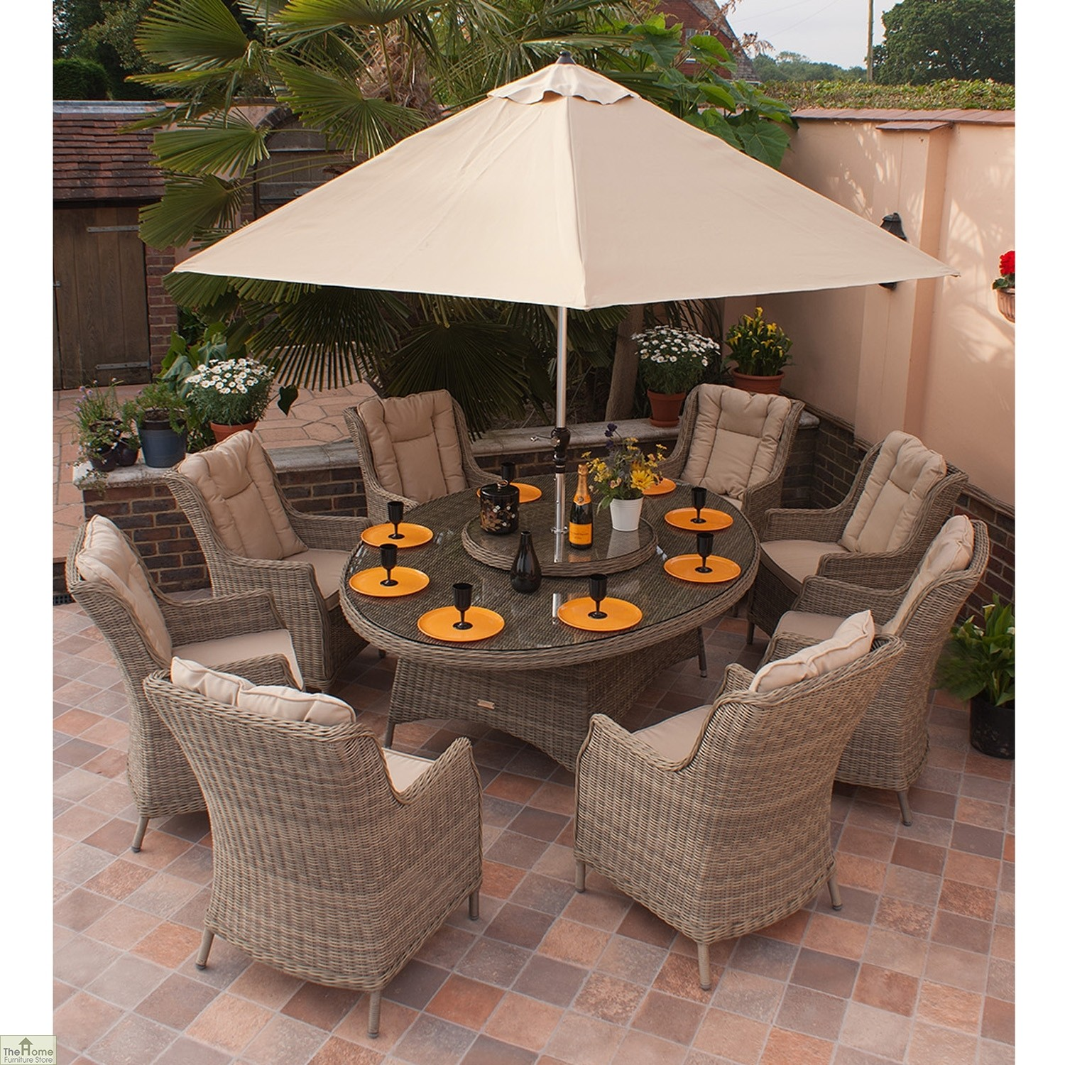 8 Seat Patio Dining Set Images Outdoor Patio Set Seats 10 100 Round Dining Sets Round Dining