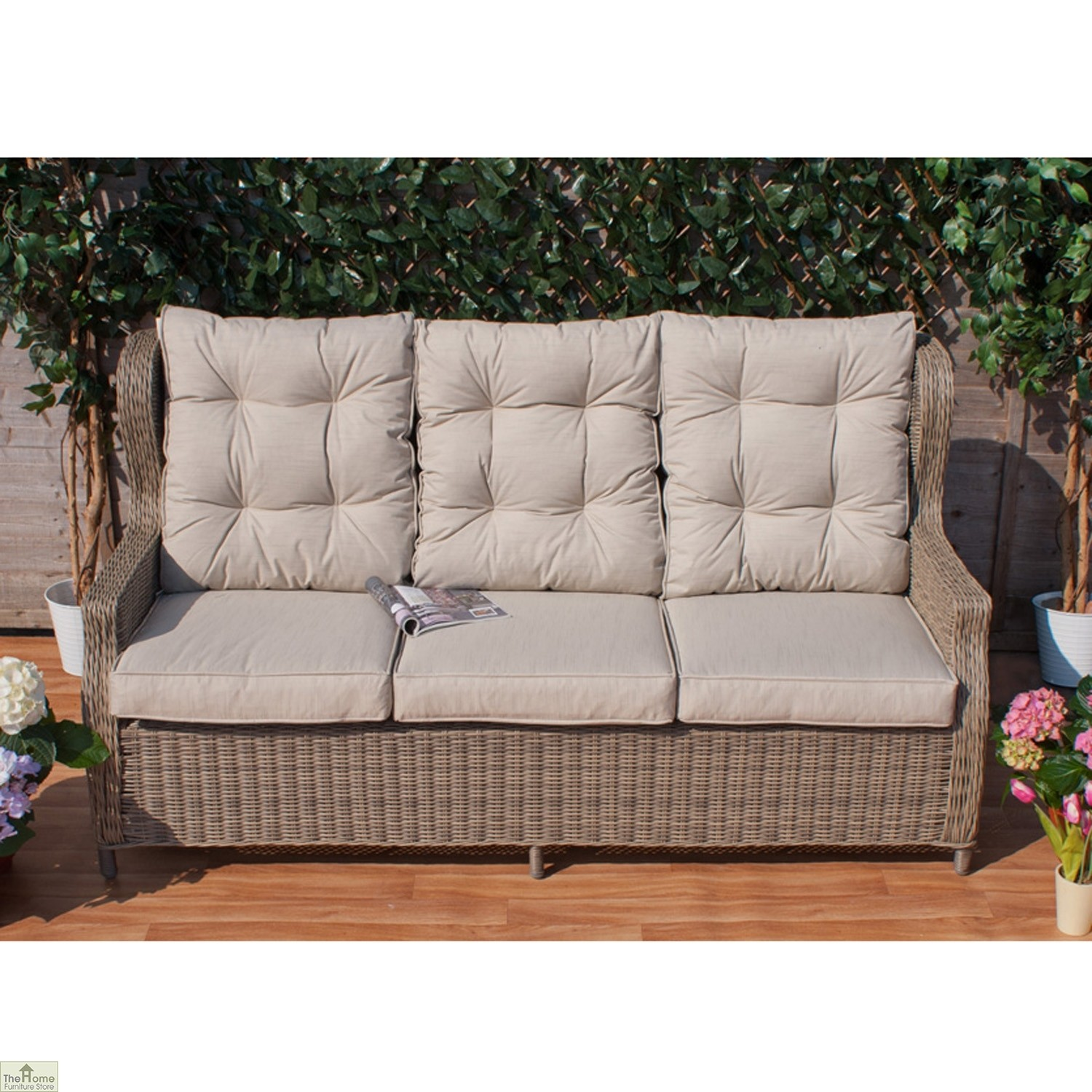 Casamore Corfu High Back 3 Seater Sofa_1
