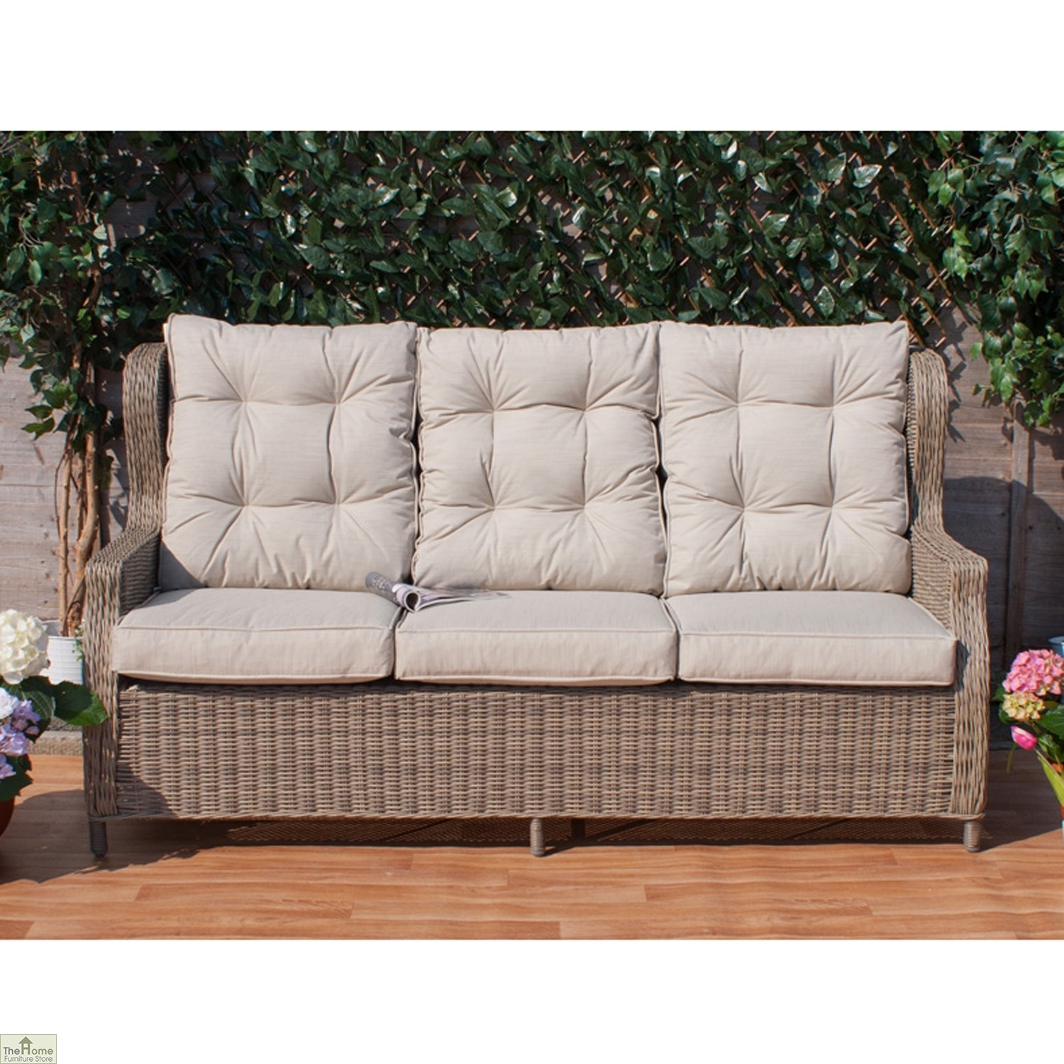 Casamore Corfu High Back 3 Seater Sofa