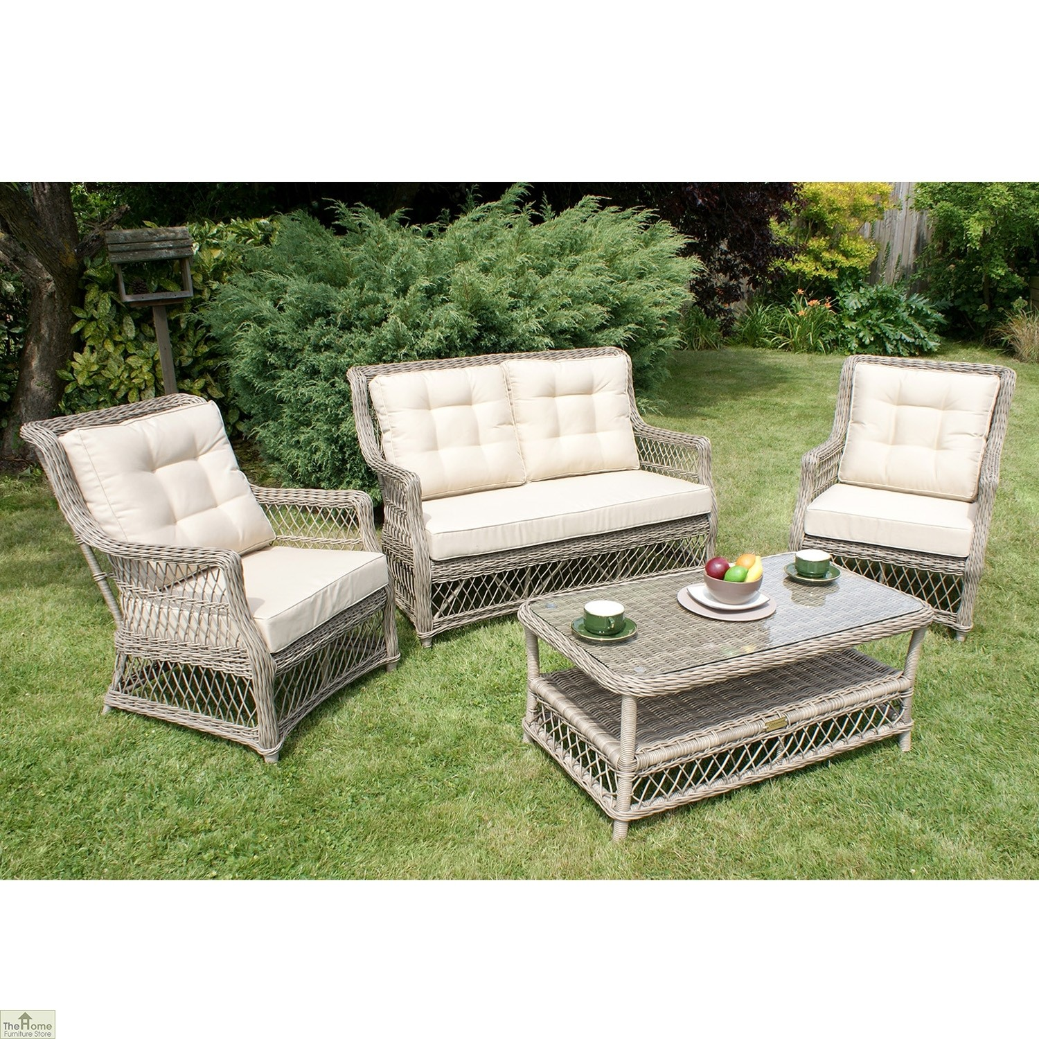 Casamore Corfu Open Weave Sofa Set