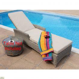 Casamore Corfu Adjustable Sun Lounger