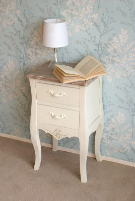 Devon Shabby Chic Bedside Table_4