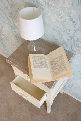 Devon Shabby Chic Bedside Table_7