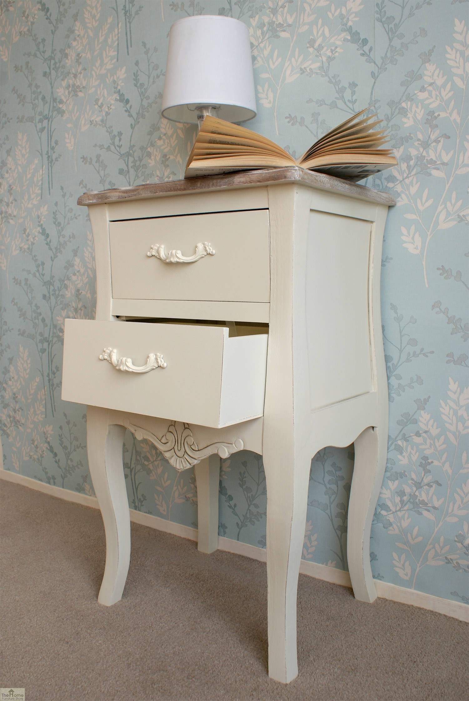Devon 2 Drawer Bedside Unit The Home Furniture Store