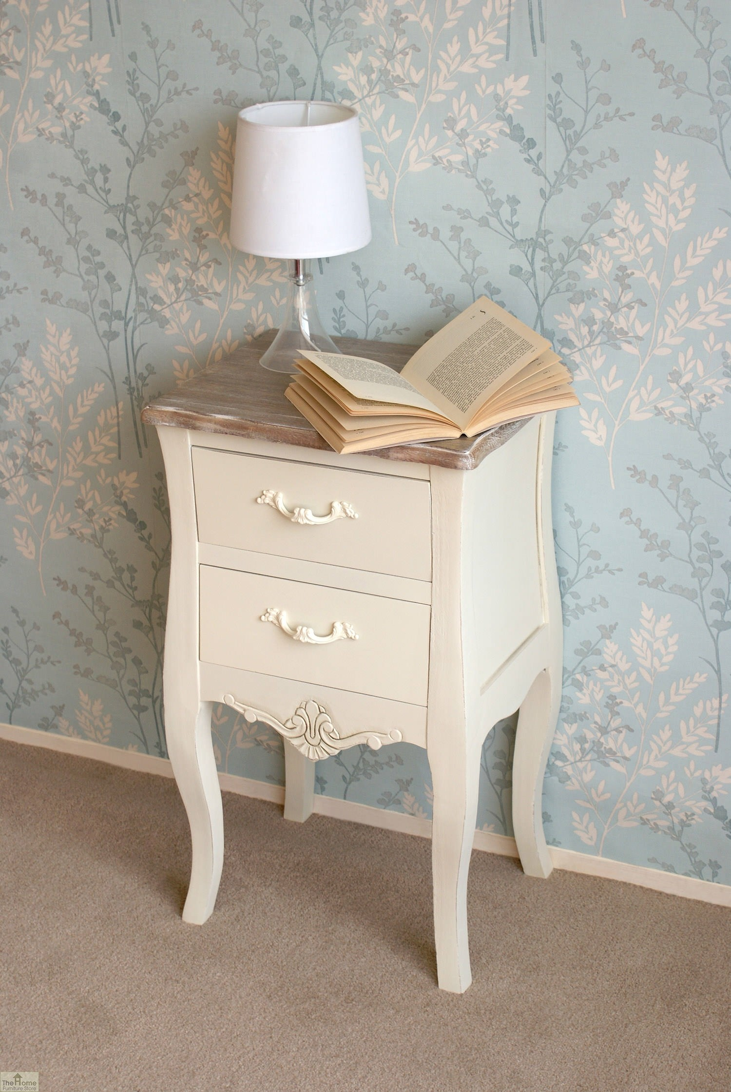 Devon 2 drawer bedside unit the home furniture store Home furniture outlet uk