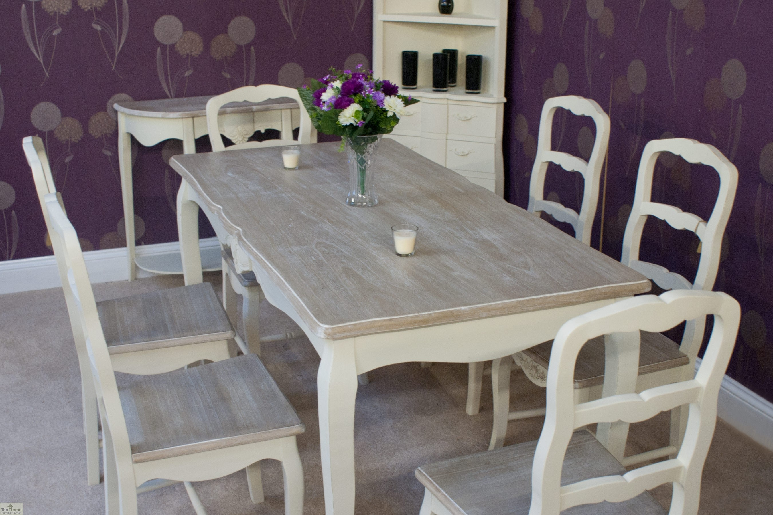 Devon 6 seater dining set the home furniture store for Dining furniture stores