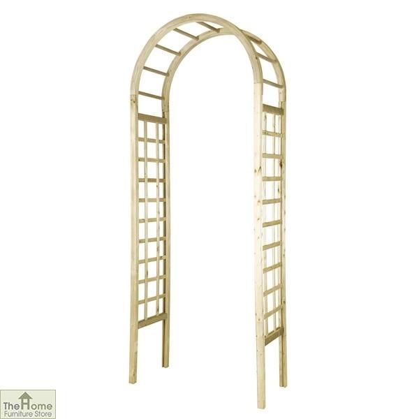 Hauxton Wooden Garden Arch
