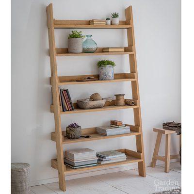 Hambledon Large Oak Shelf Ladder_1