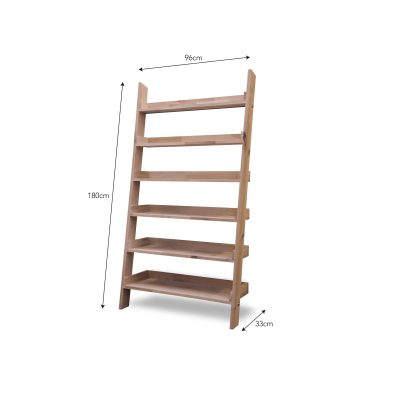 Hambledon Large Oak Shelf Ladder_2