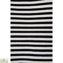Monochrome Handwoven Reversible Rug