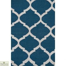 Royal Blue/White Reversible Rug