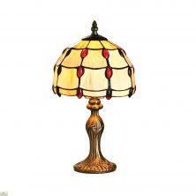 Ruby Jewel Table Lamp