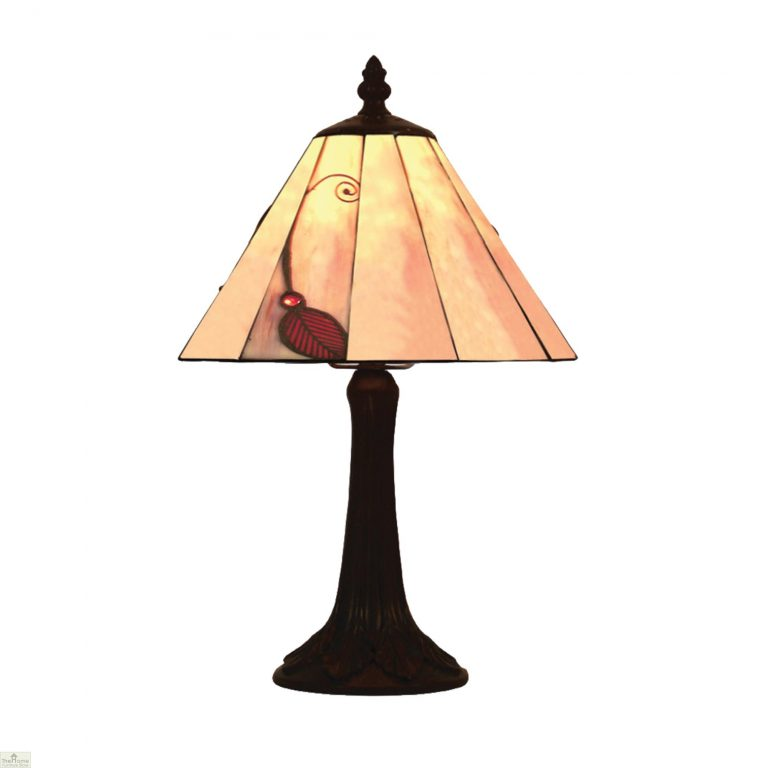 Red Leaf Table Lamp