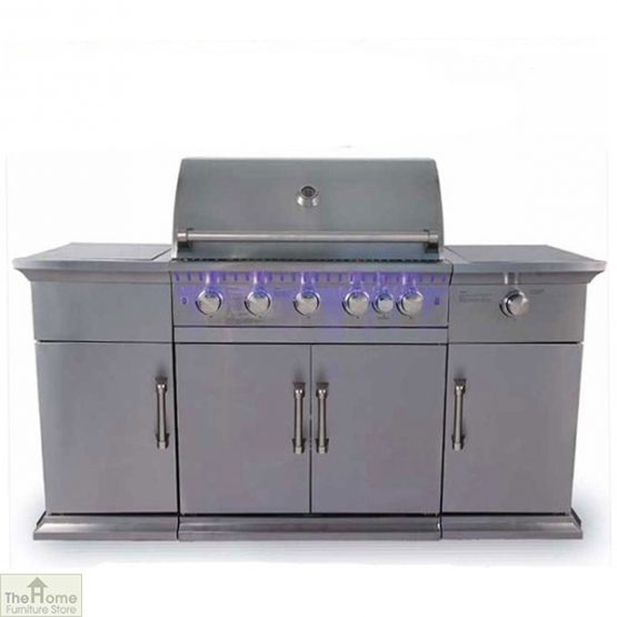Bahama Stainless Steel 5 Burner BBQ