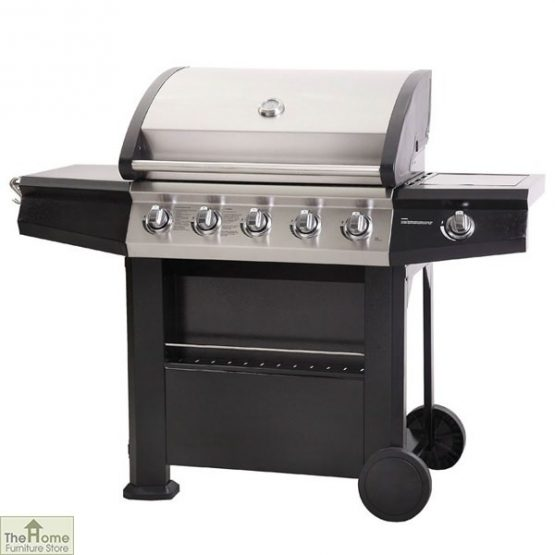Dominica 5 Burner Stainless Steel Gas BBQ