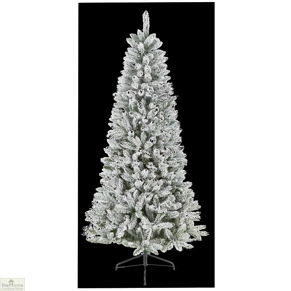 Christmas Tree Store Furniture: 2.2m Snow White Christmas Tree