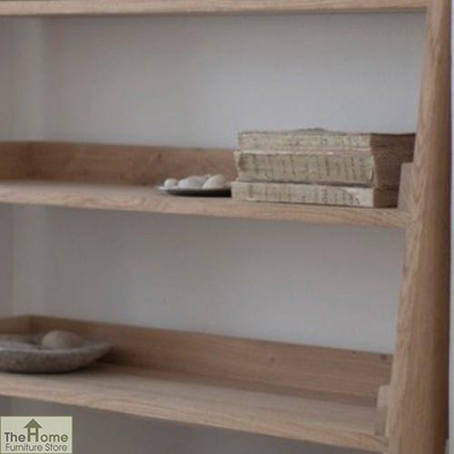 Large Oak Ladder Shelf_2