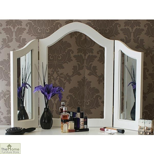 Limoges triple dressing table mirror the home furniture for Dressing amenagement limoges