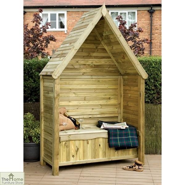 Linton Wooden Garden Arbour_1