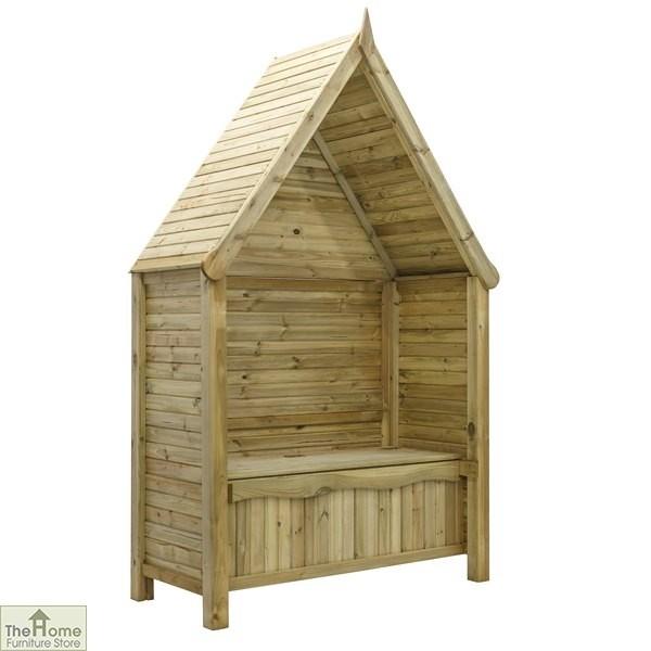 Linton Wooden Garden Arbour