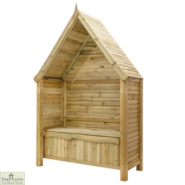 Linton Wooden Garden Arbour_3