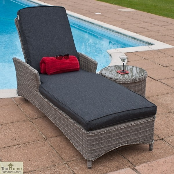 Casamoré Madrid Adjustable Sun Lounger_1
