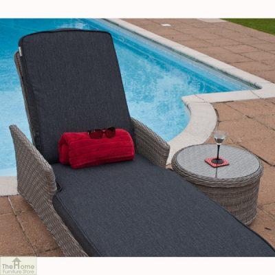 Madrid Adjustable Sun Lounger