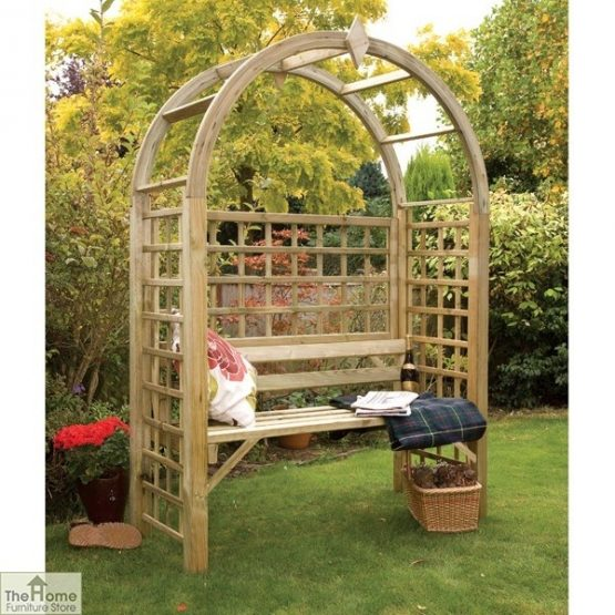 Oakington Wooden Garden Arbour_1