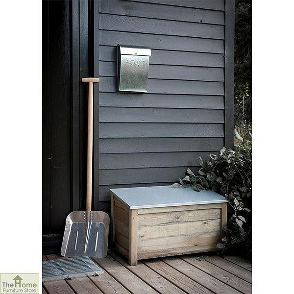Waterproof Wood Storage Box: Outdoor Wooden Storage Box Unit