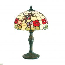 BEIGE TIFFANY TABLE LAMP