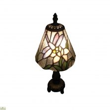 Neutral Tiffany Dragonfly Table Lamp
