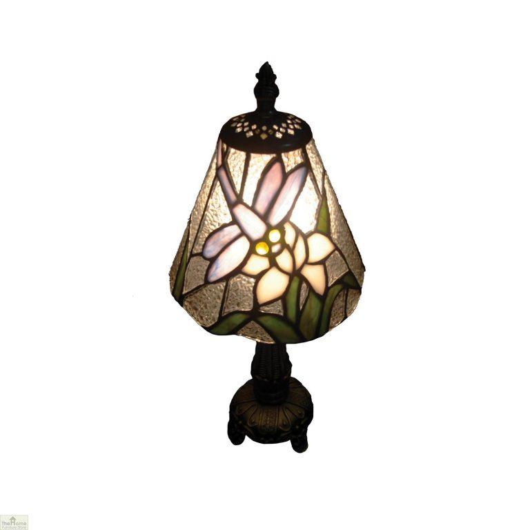 Neutral Tiffany Dragonfly Table Lamp