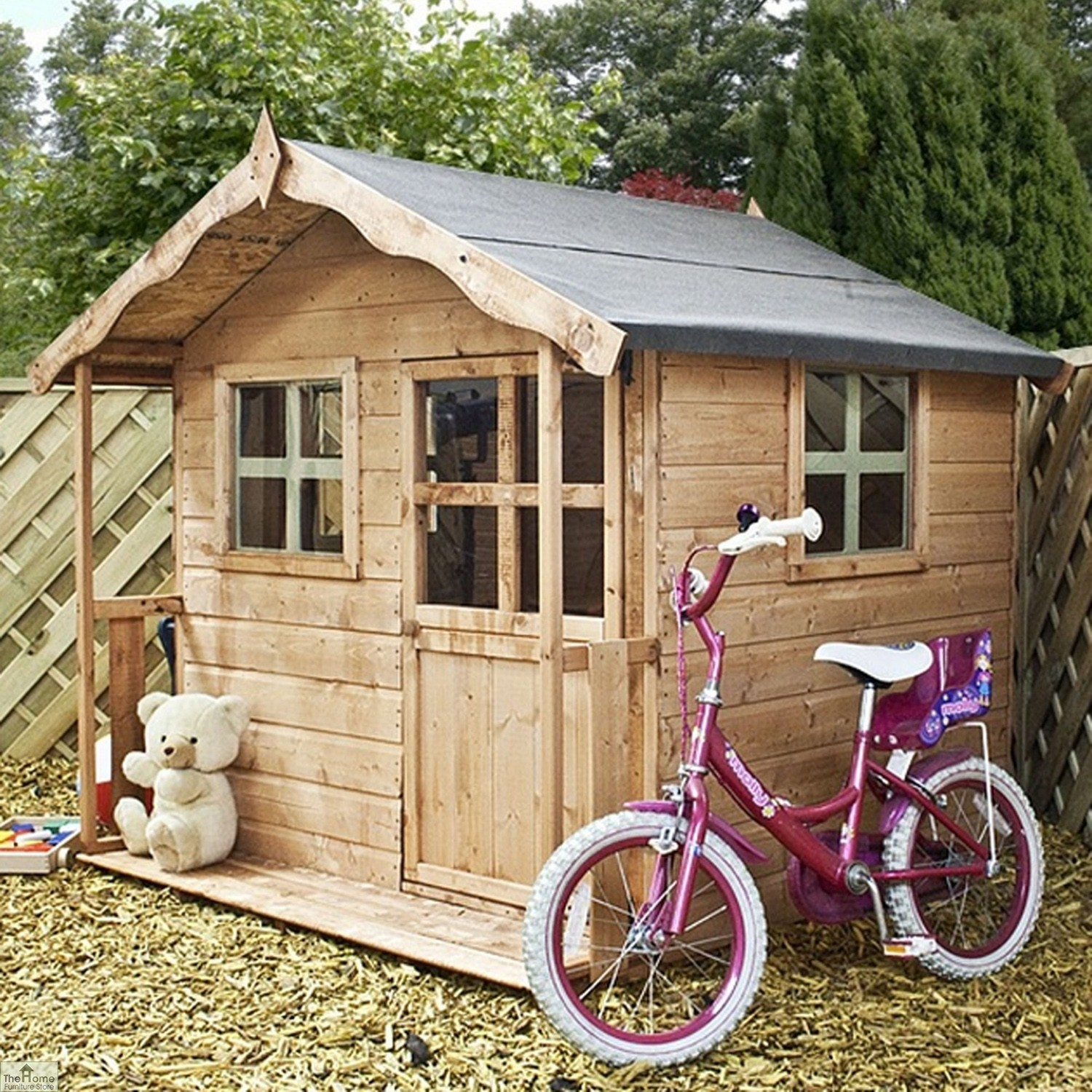 Cottage Style Childrens Playhouse