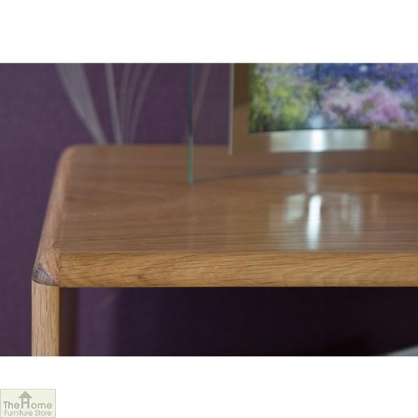 Casamoré Retro Style Oak Side Table Unit_6