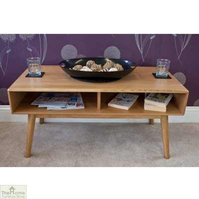 Casamoré Retro Style Oak Coffee Table_1